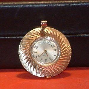 Women's Gold Tone Timex Analog Charm Watch